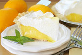 Lemon Meringue Pie — Stock Photo
