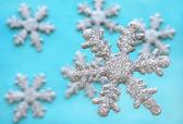 Winter Wonderland Snowflakes — Stock Photo