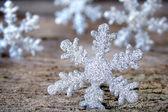 Schneeflocken — Stockfoto
