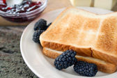 Toast and Jelly — Stock Photo