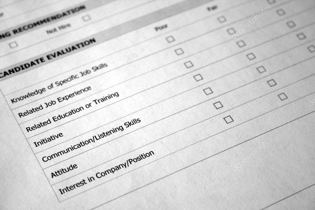 Job Evaluation Photo thephotoguy 5227573 – Job Evaluation Form