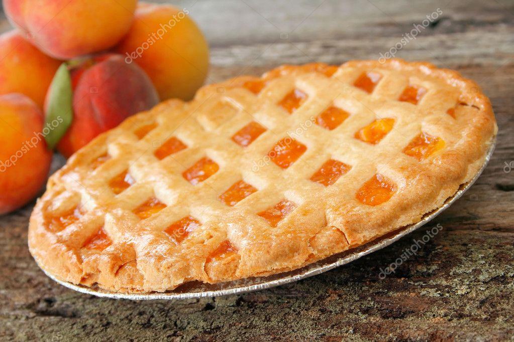 Peach Pie — Stock Photo © thephotoguy #5228651
