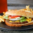 CheeseBurger — Stock Photo #5234370