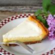 Home made Cheese Cake — Stock Photo