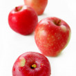 Stock Photo: Isolated Apples