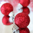 Stock Photo: Red Ornaments