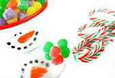 クリスマス キャンデー — ストック写真