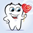 Royalty-Free Stock Vector Image: Tooth sweet