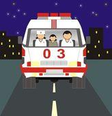 Ambulans — Stockvektor