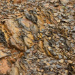Mountain rock texture — Stock Photo