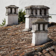 Stock Photo: Rooftops of portugal