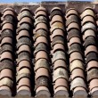 Stock Photo: Tile rooftop
