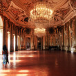 Halls of Queluz Palace — Stock Photo