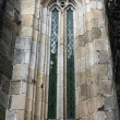 Cathedral of Braga window detail — Stock Photo