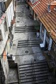 Staré chátrající ulice — Stock fotografie