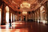 Halls of Queluz Palace — Stock Photo