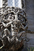 Gargoyle creature — Stock Photo