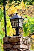 Latarni i liści — Zdjęcie stockowe