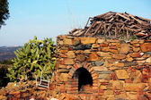 Old firewood oven — Stock Photo