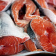 Fresh salmon - Stockfoto