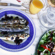 Grilled mackerel - Foto de Stock