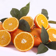 Bunch of oranges — Stock Photo #5235683