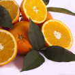 Bunch of oranges — Stock Photo #5235692
