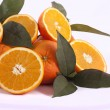 Stock Photo: Bunch of oranges