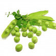 Pod peas — Stock Photo