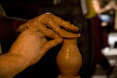 Pottery making — Stock Photo