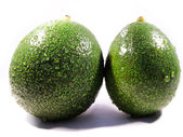 Two avocados — Stock Photo
