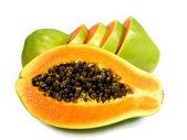 Papaya sliced — Stock Photo