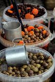 Kontejnery oliv — Stock fotografie