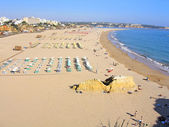 "Wide view of ""Praia da Rocha"" — Stock Photo"