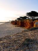Quarteira-stranden — Stockfoto