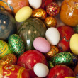 Colorfull easter eggs — Stock Photo