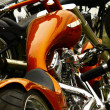 Stock Photo: bikeshow detail