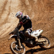 Motocross dirtbike — Stockfoto