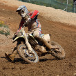 Motocross dirtbike - Stock Photo