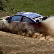 Stock Photo: Rally competition