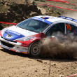 Rally competition — Stock Photo