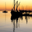 Stock Photo: Anchored boats