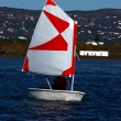 Small sailing boat — Stock Photo