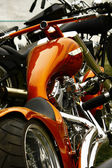 Bikeshow detail — Stock Photo