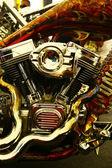 Engine detail — Stockfoto
