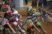 Motocross dirtbikes — Stock Photo