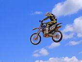 Canlı yayında motosiklet — Foto de Stock