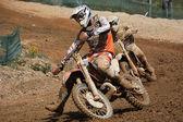 Motocross dirtbikes — Stock Photo