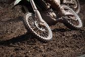Detalle de la moto — Foto de Stock