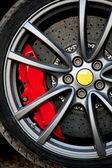 Highspeed wheel — Stock Photo